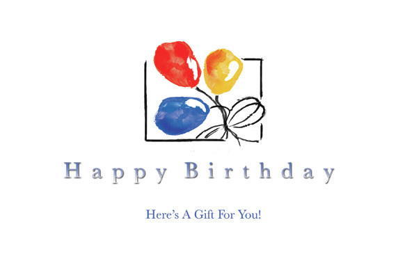 Happy Birthday card, direct mail marketing, Raphel Marketing