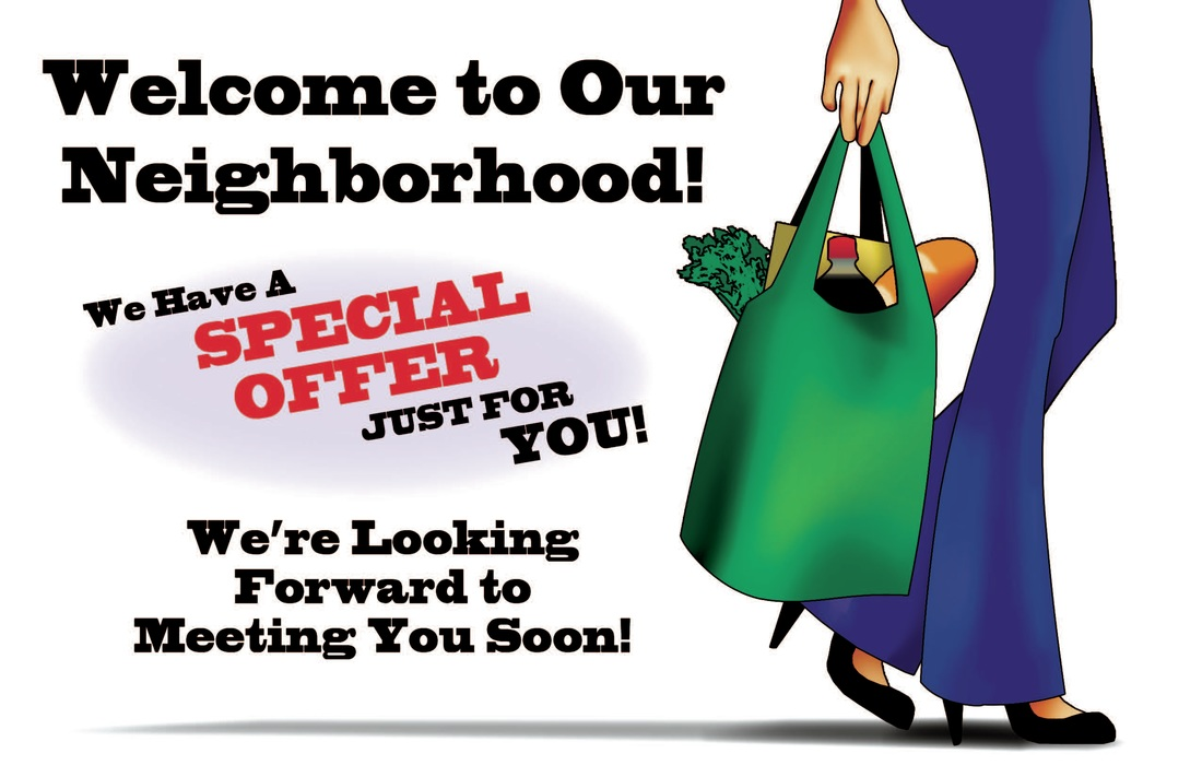 Welcome to our neighborhood, direct mail marketing, Raphel Marketing
